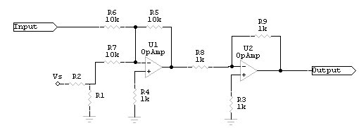 Figure 3: Basic Voltage Shifting Circuit